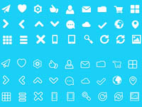 Free Icons: 60 Fat Icons