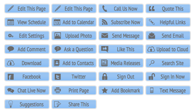 Blue Call-To-Action Buttons - All Buttons