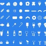 Free Icons: 200 Food Icons – A Foodie Pack