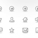 Free Icons: 40 Awesome Textured Icons