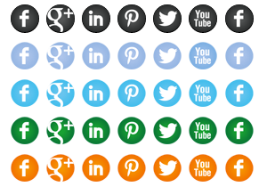 round-social-icon-buttons
