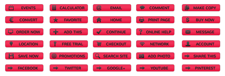 Red Alert Buttons - All Buttons