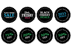 Black Friday Buttons