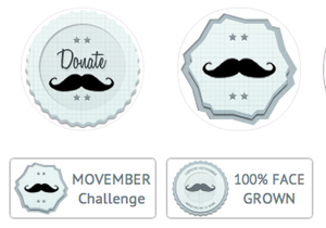 Movember Badges