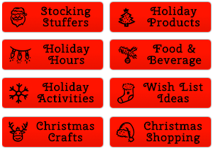 christmas-shopping-buttons