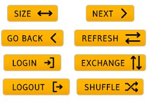 Orange Arrow Buttons