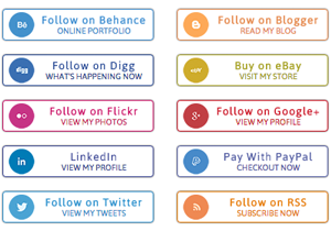 Circular Social Buttons
