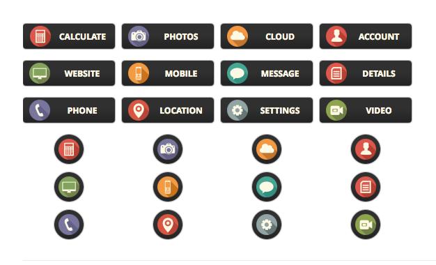 Nova WordPress Buttons