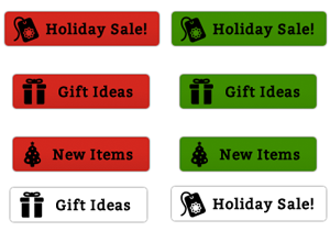 free-holiday-sale-buttons