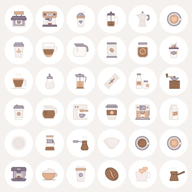 Free Barista Coffee Icons