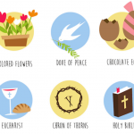 Easter Icon Set