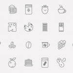 Food & Drinks Icon Set