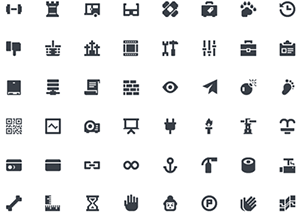 Squid Ink Mini Icons