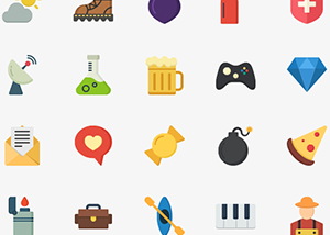 Modern Flat Vector Icons