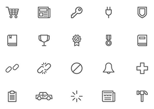 Universal Themes Vector Icons