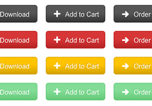 Colorful eCommerce Buttons