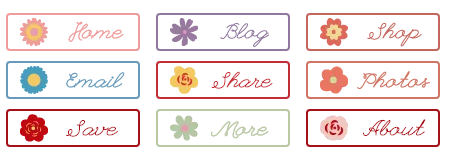 Preview Whimsy Flower Buttons