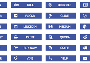 Social Link Buttons